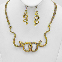 Temptress Snake Necklace