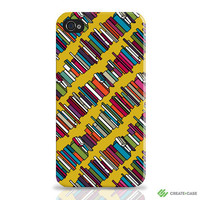 Iphone 4 case & Iphone 4s case Skew Whiff Book by CreateandCase