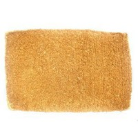Plain Coco Doormat, 22-Inch by 36-Inch