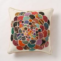 orimono pillow, flower - Anthropologie.com