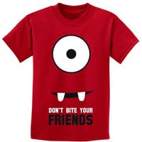Friendly Monster Don't Bite Your Friends Full Face Red by party8
