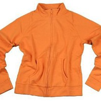 Womens Full Zip Athletic Lightweight Active Jacket