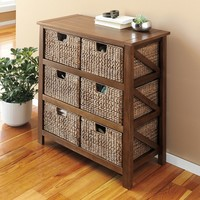 SONOMA life + style Cameron 6-Drawer Storage Tower