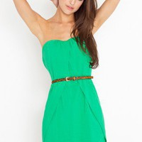 The Splits Dress - Clover Green | NASTY GAL | Jeffrey Campbell shoes, Cheap Monday, MinkPink, BB Dakota, UNIF + more!