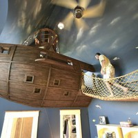Fancy - Pirate Ship Bedroom