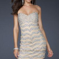 La Femme 17493 Dress - NewYorkDress.com