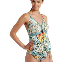 PEZ D`OR Women`s Maternity Cottage Garden Maillot