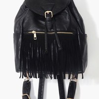 Fringed Backpack in  Accessories at Nasty Gal