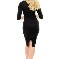 Lucky 13 Hell's Belles Stretch Twill Wiggle Dress - S to 2X - Unique Vintage - Bridesmaid & Wedding Dresses