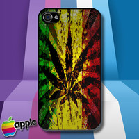 Rasta Reggae iPhone 4 iPhone 4S Case Cover - 1990-Now