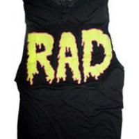 RAD Burnout Unisex Muscle Tee