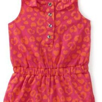 Carters Baby-Girls Infant Leopard Print Sleeveless Romper