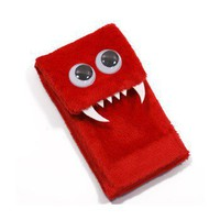 ShanaLogic.com - 100% Handmade  Independent Design! iPhone / iTouch Monster - Red - iPhone  iPod Touch - iPod  iPhone Gear