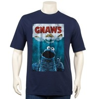 True Nation Cookie Monster Gnaws Tee - Big & Tall