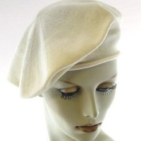 Parkhurst 11.5 Inch Cotton Knit Beret