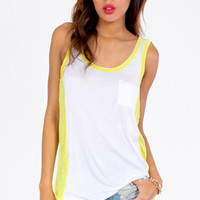 On The Side Lines Tank $15
