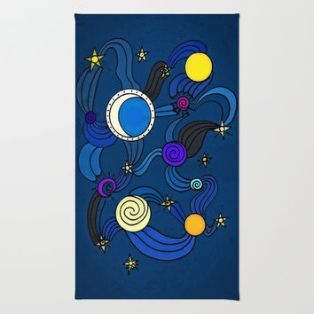The Celestial Environment Rug by DuckyB (Brandi)