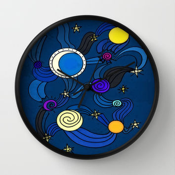 The Celestial Environment Wall Clock by DuckyB (Brandi)