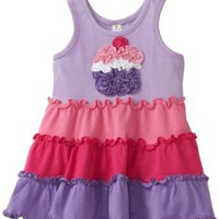 Love U Lots Baby-girls Infant Ruffle Cupcake Tiered Dress