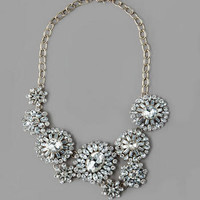 OPERA PLATZ JEWELED STATEMENT NECKLACE