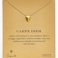 Dogeared 'Carpe Diem' Boxed Pyramid Pendant Necklace | Nordstrom