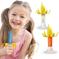 BANANICE BANANA PEEL ICE POP MOLDS