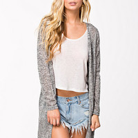 Sally Knee Long Cardigan