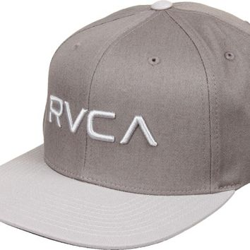 RVCA RVCA Twill II Snap Back Hat - monument - Free Shipping