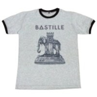 Bastille T-Shirt elephant indie rock alternative music concert / GV74.4 size M