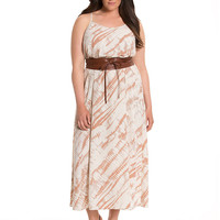 Lane Collection Tie-Dye Maxi Dress | Lane Bryant