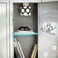 Black Dottie Pendant Locker Light