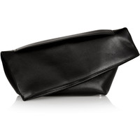 Jil Sander | Large leather clutch | NET-A-PORTER.COM