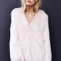Ladakh X UO Margot Faux Fur Jacket - Urban Outfitters
