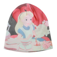 Disney Alice In Wonderland Tea Party Slouch Beanie