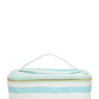 Painted Stripe Makeup Bag