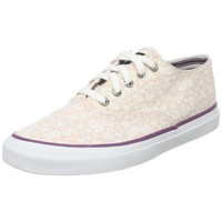 Sperry Top-Sider Women`s Cvo Canvas Lace-Up,Pink Floral,9.5 M US