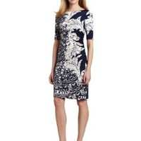 Jones New York Women&#x27;s Graphic Paisley Print Dress