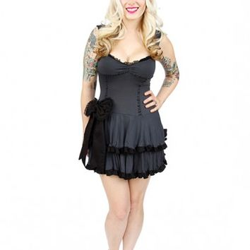 "Women's ""Anabelle"" Dress by Jessica Louise (Black)"