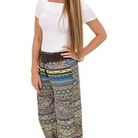 Lime and Coconut Pants :: NEW ARRIVALS :: The Blue Door Boutique
