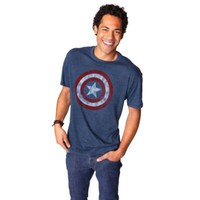 Captain America Shield Tee for Men by Mighty Fine | Tees | Disney Store