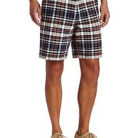 Fred Perry Men's Madras Check Short