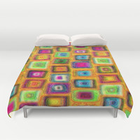 Mosaic Duvet Cover by gretzky | Society6