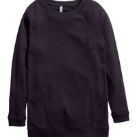 Long Sweatshirt - from H&M