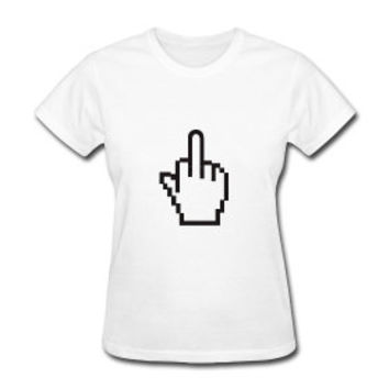 Middle Finger Cursor Tee