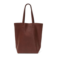 I liked this design on #Fab. Basic Leather Tote Molasses
