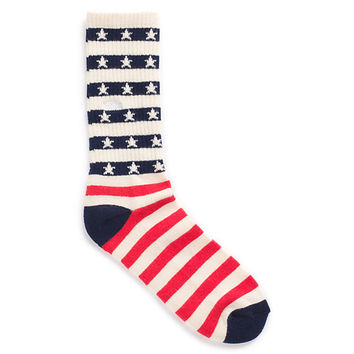 Banner Stripe Crew Socks 1 Pack | Shop Mens Socks at Vans