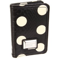 Marc by Marc Jacobs D5 Dotty Passport Holder,Black Dot Multi,One Size
