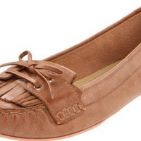 Luxury Rebel Women's Elena Moccasin, Camel, 38 M EU/8 M US