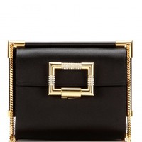 Miss Viv' Mini Evening satin shoulder bag