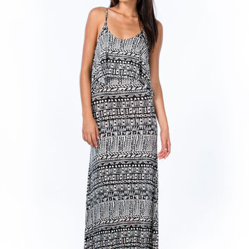 Tribe Vibe Tiered Maxi Dress